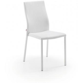 Silla diseño moderno Blanco puro modelo AURA