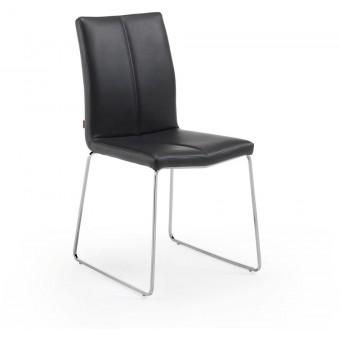 Silla Diseño Moderno Acero Inoxidable Color negro Modelo DRITO