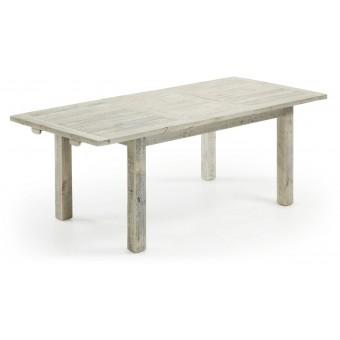 Mesa diseño moderno extensible 160 (220) madera gris claro modelo SKYH